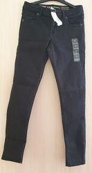 Джинсы Gymboree super skinny тёмно-серые черные 10р 134-140 оригинал