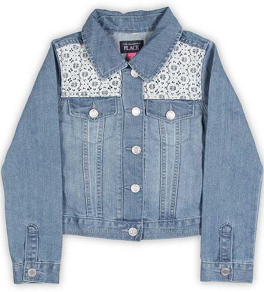 Childrens Place джинсовая курточка для девочки, на 7-8лет, новая