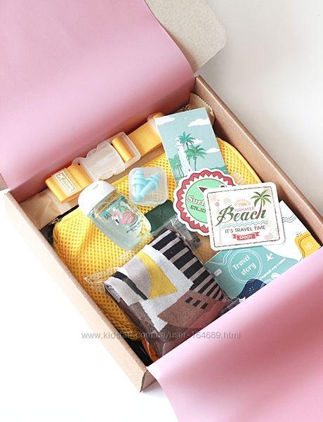 Подарочный набор для путешествия Travel box 3