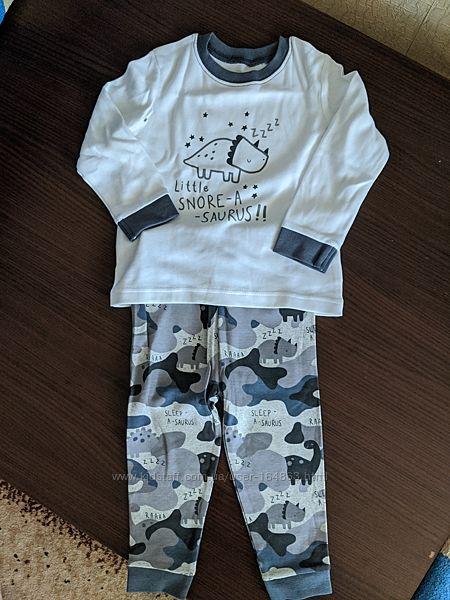 Новая хопковая пижамка George мальчику 12-18 месяцев