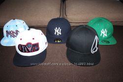 Кепки бейсболки снепбек блайзеры реперки snapback, NY