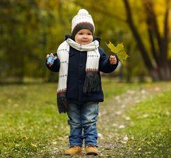 Трендовое демисезонное синие пальто для мальчика от calvin klein jeans шерс