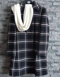 Пальто Marks&Spenser р. 12 шерсть В подарок шарф Marks&Spenser