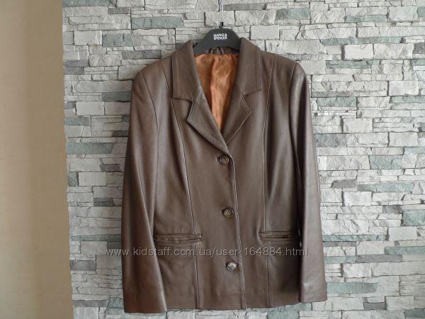 Куртка кожа р. М новая