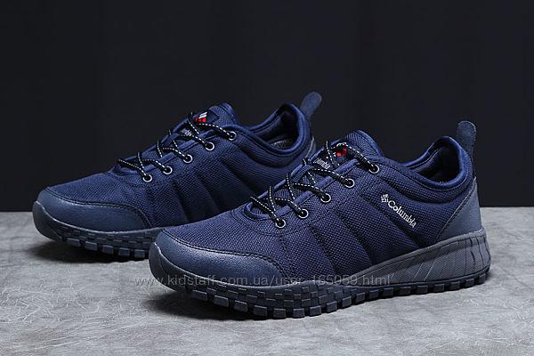 Кроссовки мужской 18003  Columbia, темно-синие