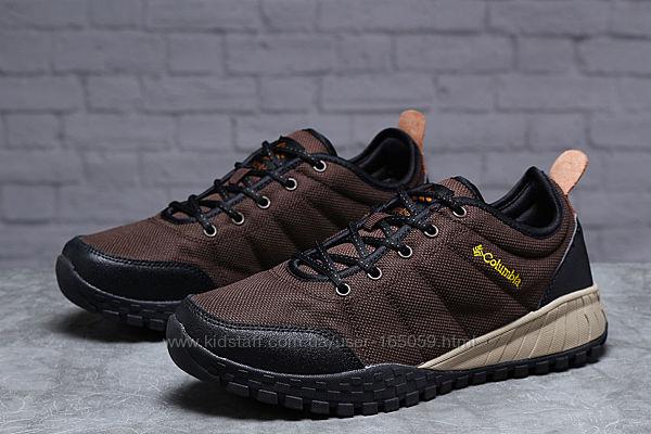 Кроссовки мужской 18004  Columbia, коричневые