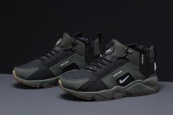 Кроссовки зимние ботинки 31541 Nike Arcnm, зеленые