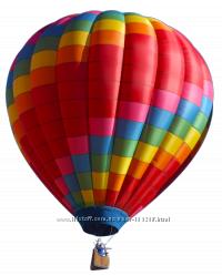 Воздушный шар с именем именинника.  феэрверк Видео-открытка