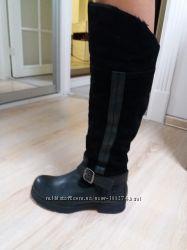Dockers кожаные сапоги р. 38