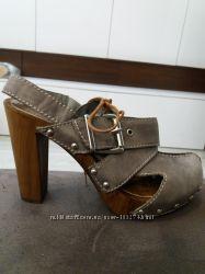 BULLBOXER новые кожаные туфли Италия р. 36