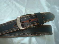 Кожаные джинсовые ремни MASCO , в наличии.