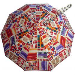 Модный зонт ZEST, полуавтомат, серия 10 спиц, Паолина