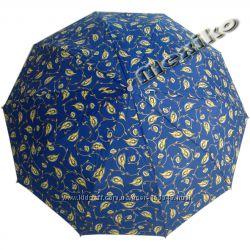 Бесплатная доставка. Модный зонт ZEST полуавтомат, 10 спиц, Расцв Сабелла