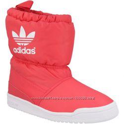 Зимние сапоги дутики Adidas Slip On, B24744. Оригинал.