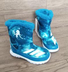 Детские сапоги Adidas Disney Frozen Mid AQ3656