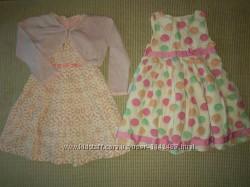Пакетом платье M&S 83 см, Cооl Club 92 см, болеро George 92-98 см