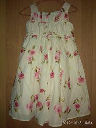 Платье для девочки Monsoon на 2-3 года