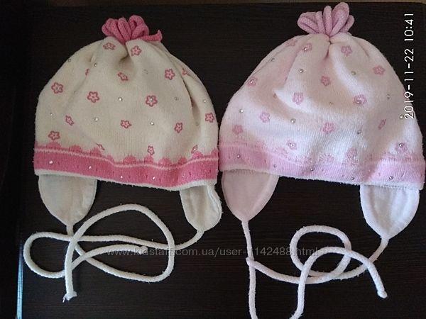 Демисезонная шапка для девочки Agbo Агбо на обхват 48-51 см 2-4 года