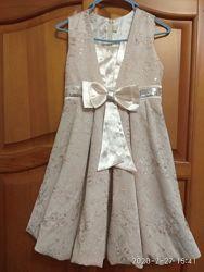 Нарядное платье на выпускной в садик, рост 122 см
