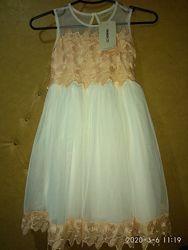 Нарядное платье на выпускной, праздник LC Waikiki, Вайкики, рост 122-128 см