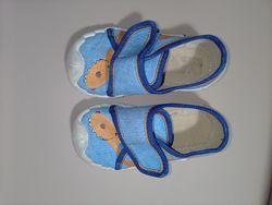 Детская обувь тапочки 21р