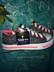 Skechers с мигалками  для модницы