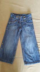 Джинсовые штаны-бриджи NEXT