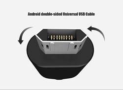 Зарядный кабель Floveme micro USB реверсивный
