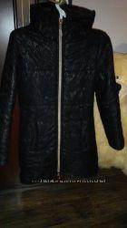 Зимняя курточка с гипюром