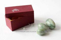 Массажер нефритовый набор 3 яйца шары Венеры