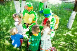 День рождения с Черепашками Ниндзя