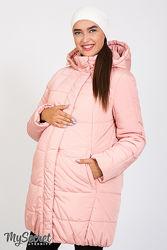 Зимові довгі куртки для вагітних - три варіанти