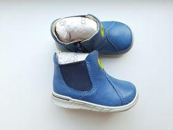 Ботинки  Ecco, 20 размер, кожа.