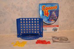 Собери 4, Connect 4, настольная игра от Hasbro