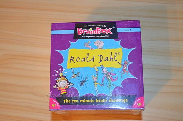 Игра на английском Brainbox по мотивам книг Роальда Даля, Roald Dahl