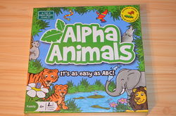 Alpha animals, детская настольная игра