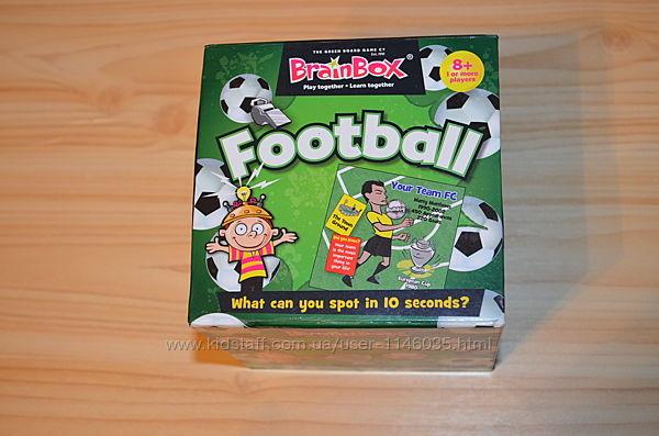 Football brainbox, детская настольная игра сундучок знаний