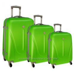чемодан пластик поликарбонат абс