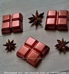 Шоколад ручной работы 4 Кубика