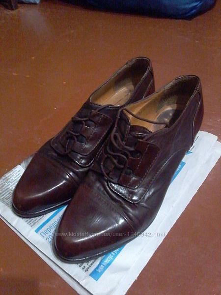 Демісезонні туфлі Tivola, Італія. Розмір 39 наш 38-38,5
