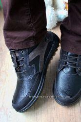 Отличного качества мужские ботинки