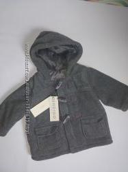 Классная куртка, пальтишко на малыша 3-6 мес. ,утепленная от M&S