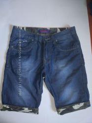 Классные джинсовые шорты на подростка 13-15 лет, или мужской XS