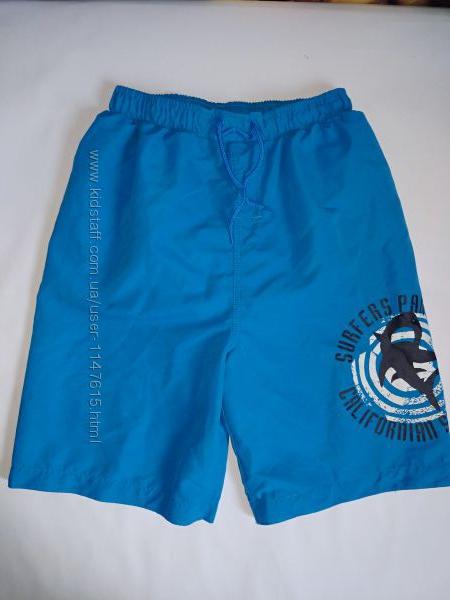 Пляжные шорты на подростка 12-13 лет, Matalan
