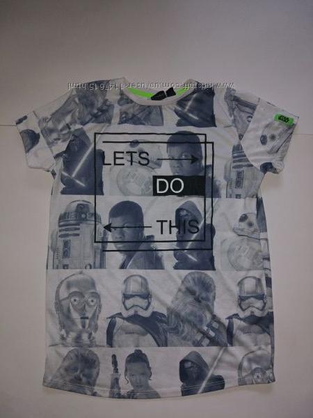 Классная футболка 11-12 лет, 152 см, Star Wars