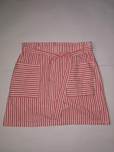 Актуальная летняя юбка, р-р 16, наш 50-52, хлопок