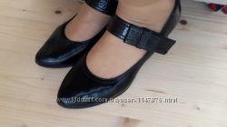 туфли кожаные лакированые
