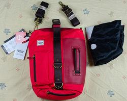 Женская красная сумка рюкзак Anvanda A Great Fcking Bag Швеция