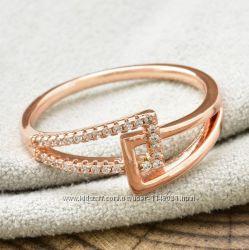 Кольцо мед золото 17 размер.