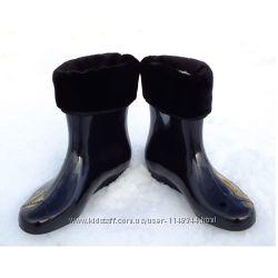 Ботинки ПВХ женские утепленные